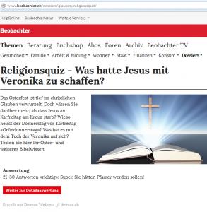Religionsquiz