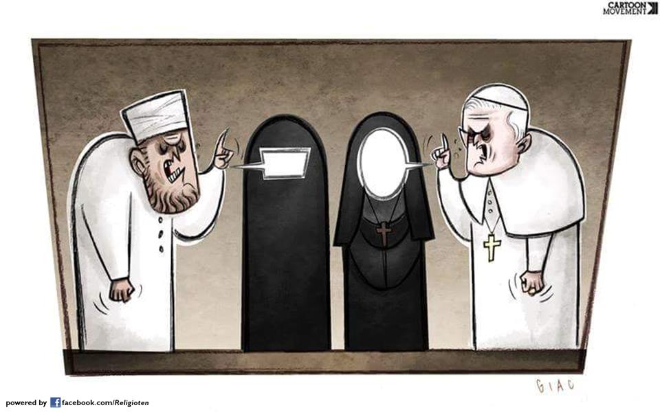Frauen in abrahamitischen Religionen