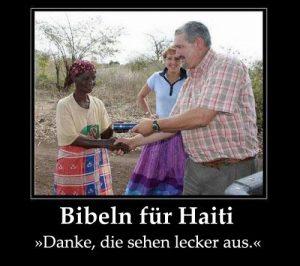 Bibeln für Haiti
