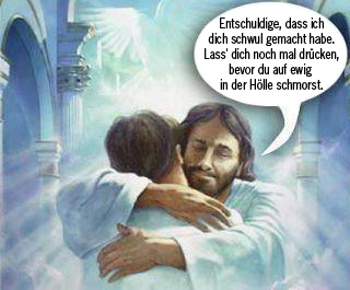 Jesus made you gay_DE