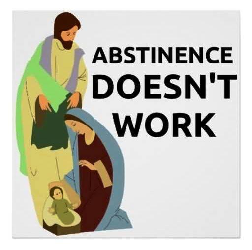 Abstinenz funktioniert nicht
