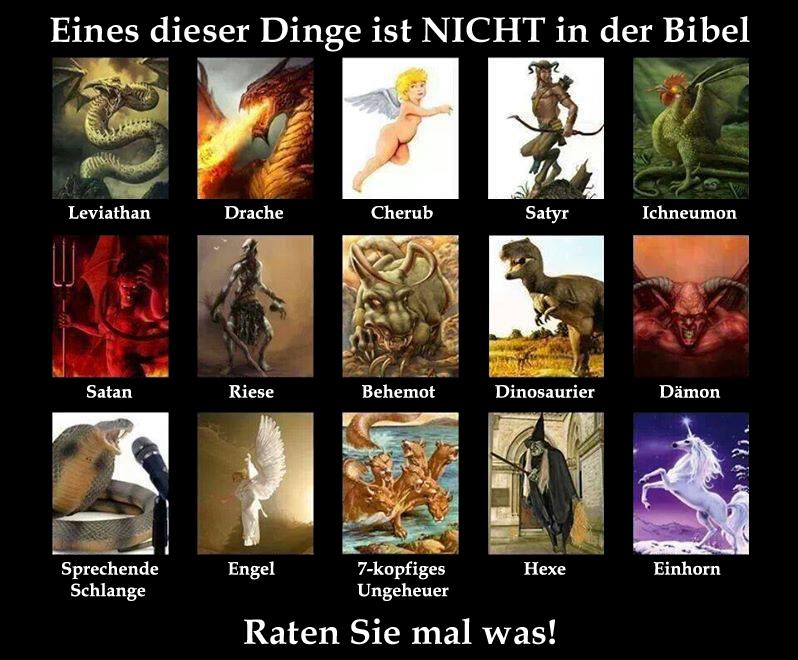 Eines davon ist nicht in der Bibel_DE